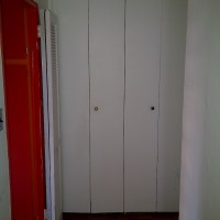 Before: Closet Doors