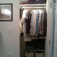 After: Walk-in Closet